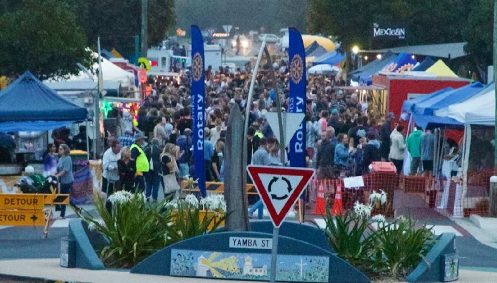 Coldstream Street Alive with the annual Twilight Markets
