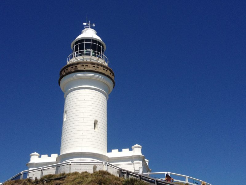 Byron Bay is well known for the beautiful lighthouse walk.