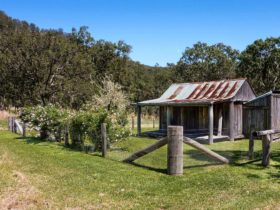 Youdales Hut and Yards, Oxley Wild Rivers National Parks. Photo: Rob Cleary/NSW Government