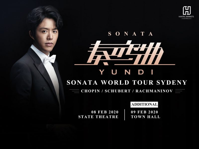 Yundi Li Sonata World Tour Sydney