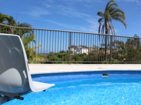 WYMO chair lift, pool, oceanview