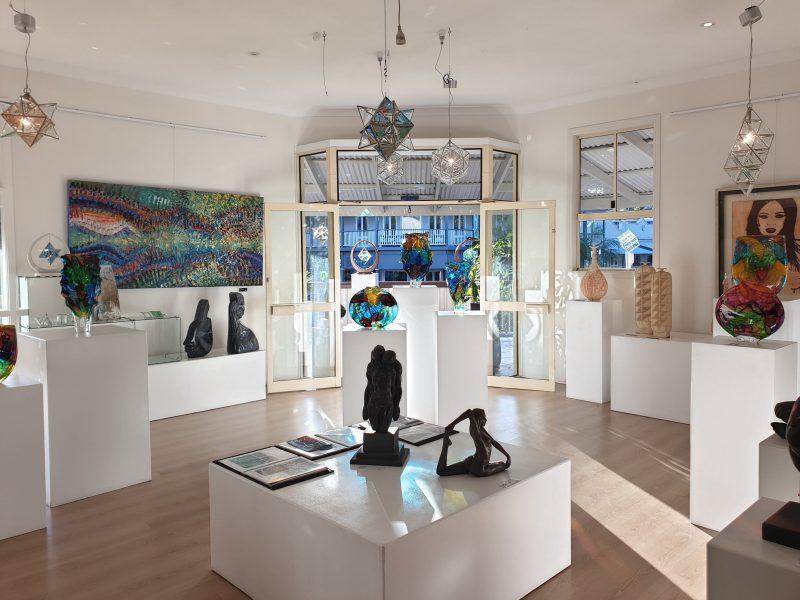 Zakay gallery in Bangalow