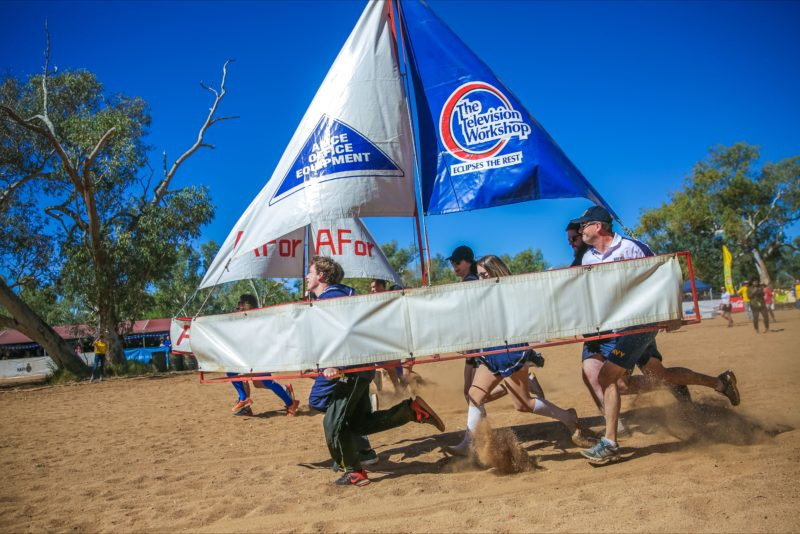 Boat racing Alcie Springs style