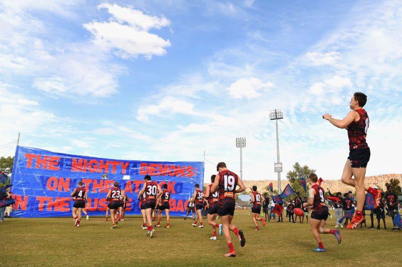 2017 Toyota AFL Game Melb v Crows