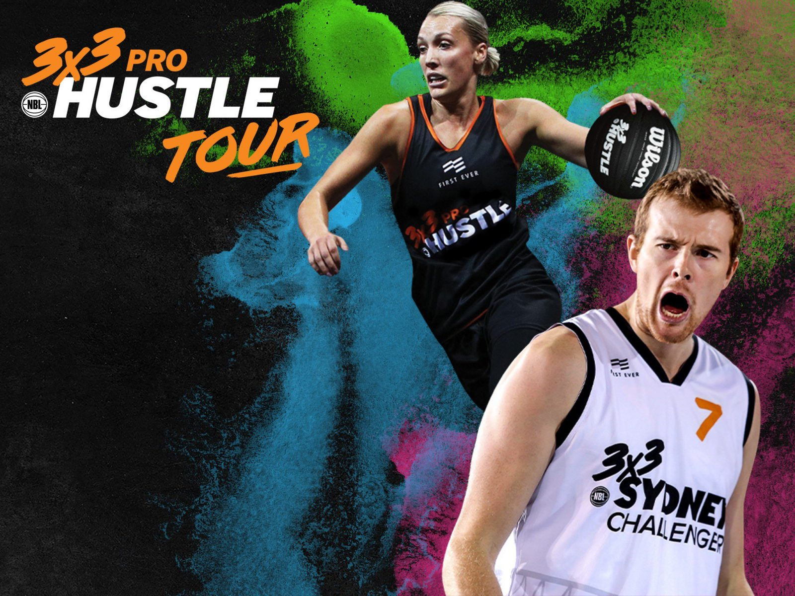 Join the action of the 3x3 Pro Hustle Tour