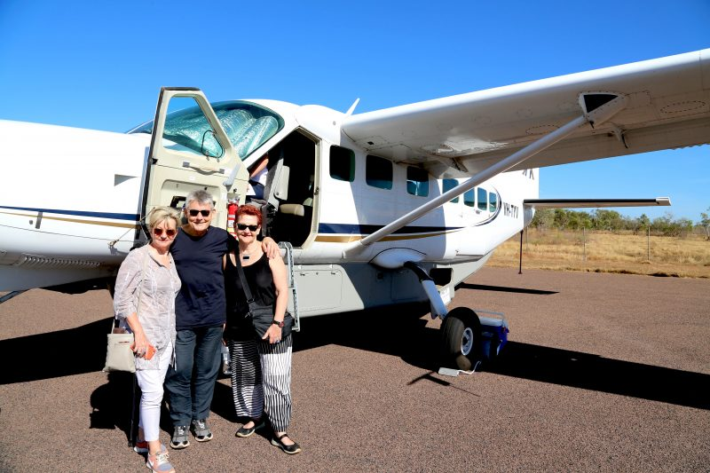 On the Ground in Arnhem Land with our transport