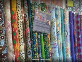 Aboriginal Fabrics, textiles, fabrics, Aboriginal Art, Alice Springs, Fabric Shop