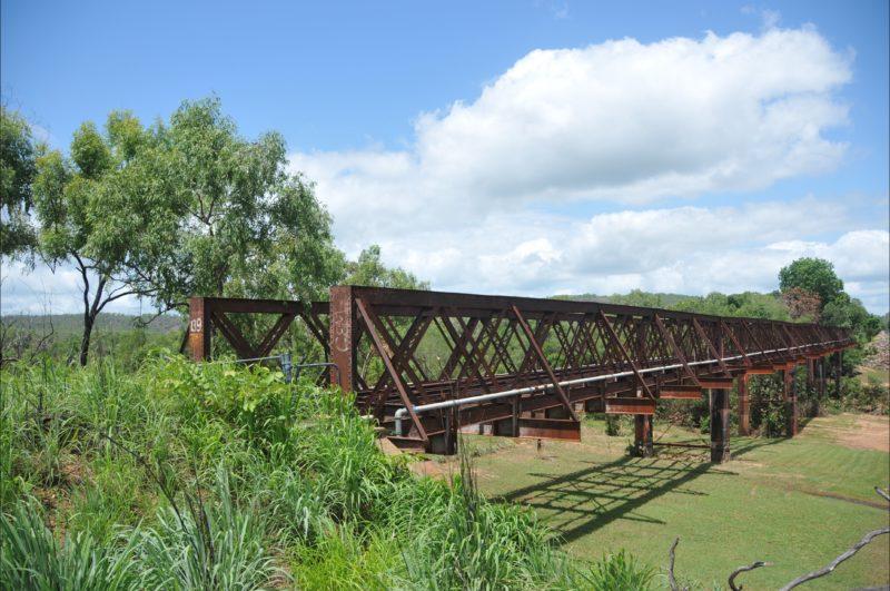 Adelaide River Railway Bridge (no longer in use).