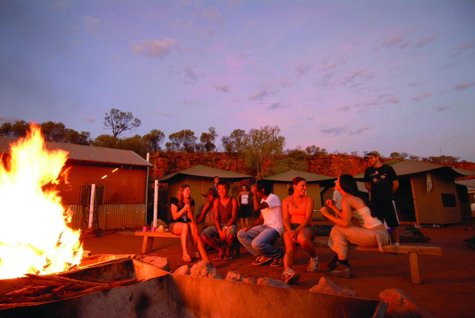 Uluru campfire