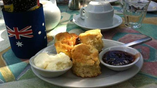 High Tea at Burnete House, Darwin Area, Northern Territory, Australia