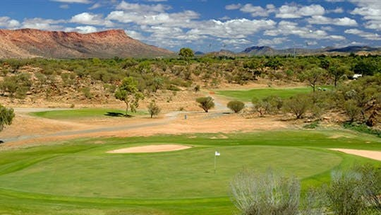 Alice Springs Golf Club, Alice Springs Area, Northern Territory, Australia