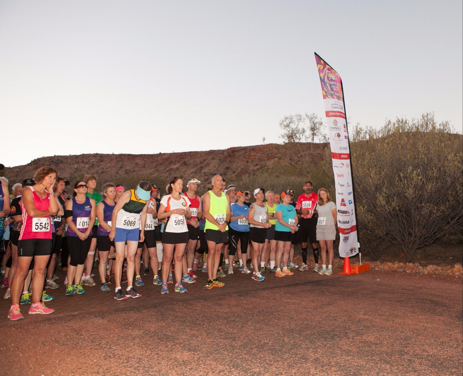 Runners at 2014 ASMG event