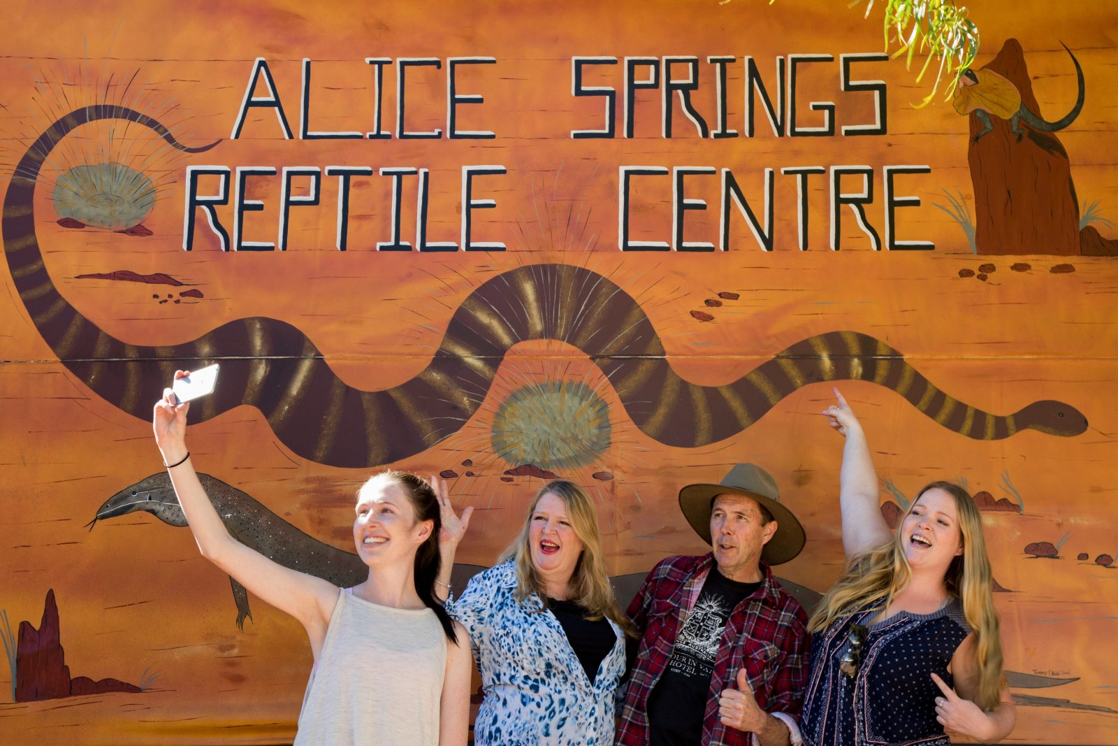 Alice Springs Reptile Centre has the largest collection of reptilian life in Central Australia