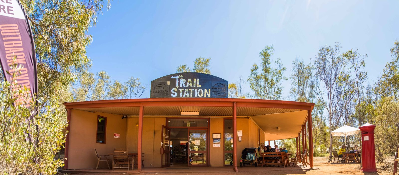 alice springs telegraph station main entrance