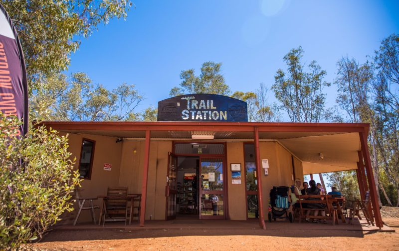 Telegraph Station Trail Station Wifi Cafe