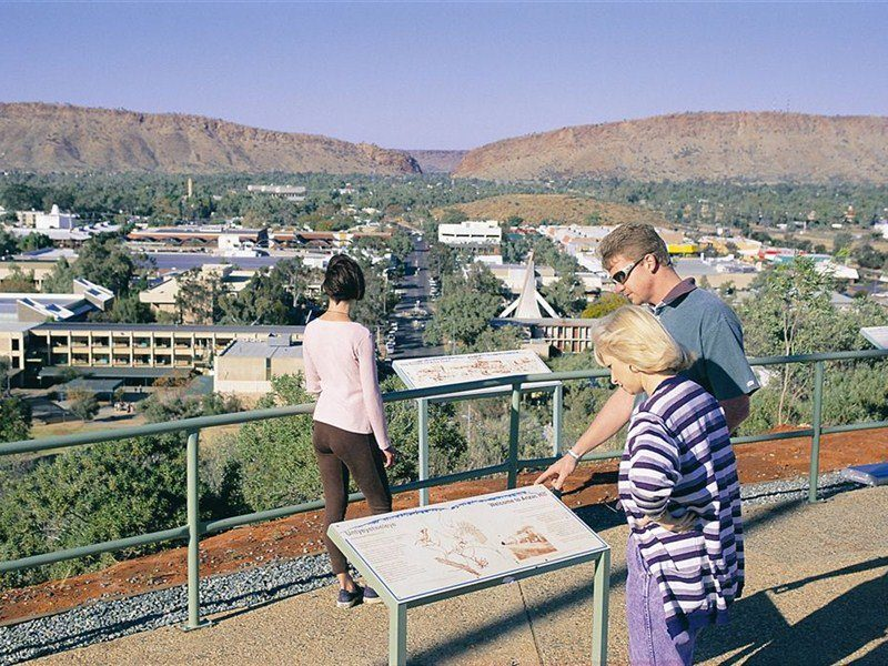 Alice Wanderer and Centre Sightseeing, Alice Springs Area, Northern Territory, Australia