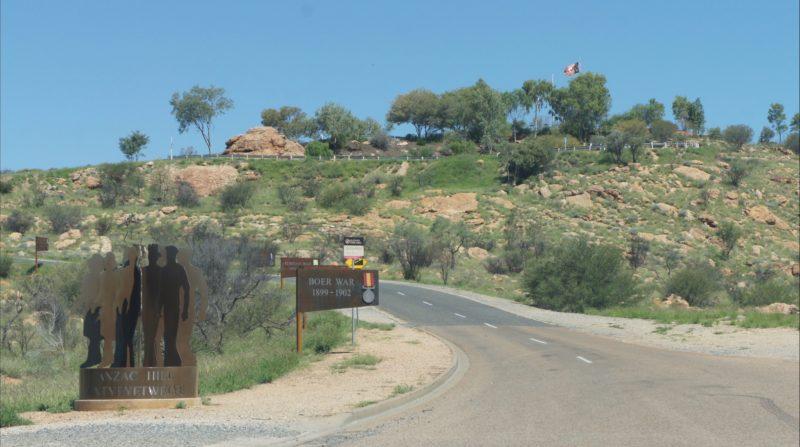 Drive to Anzac Hill