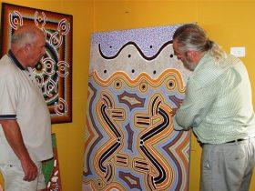 Arlpwe Art and Culture Centre, Ali Curung, Northern Territory, Australia