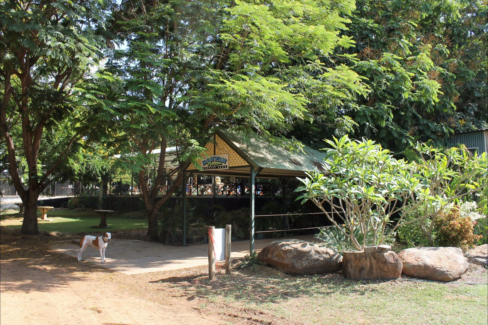Banyan farm office entrance