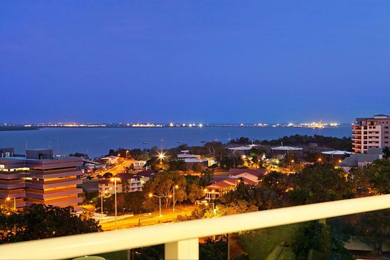 Evening View Balcony