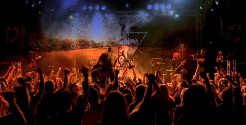 blacken open air festival metal music heavy camping outback australia 2019