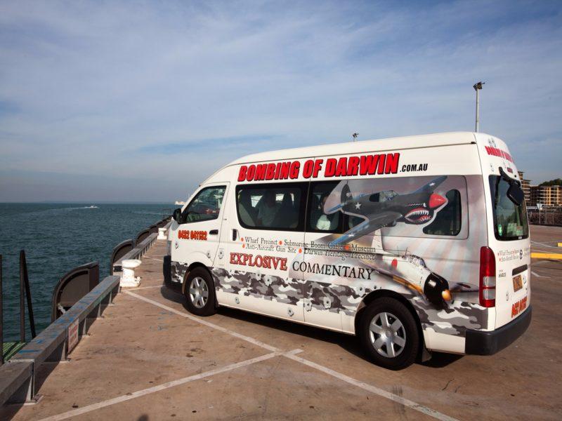 Bombing of Darwin Tour_Stokes Hill Wharf