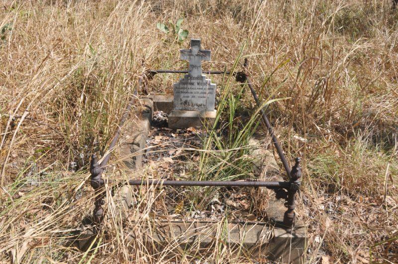 Grave site of George Alwynne Wilson (Died 11 June 1911).