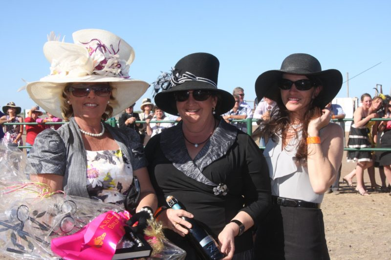 Ladies in their Race day outfits