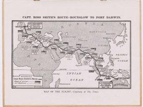 'The Ross Smith Flight: England to Australia'