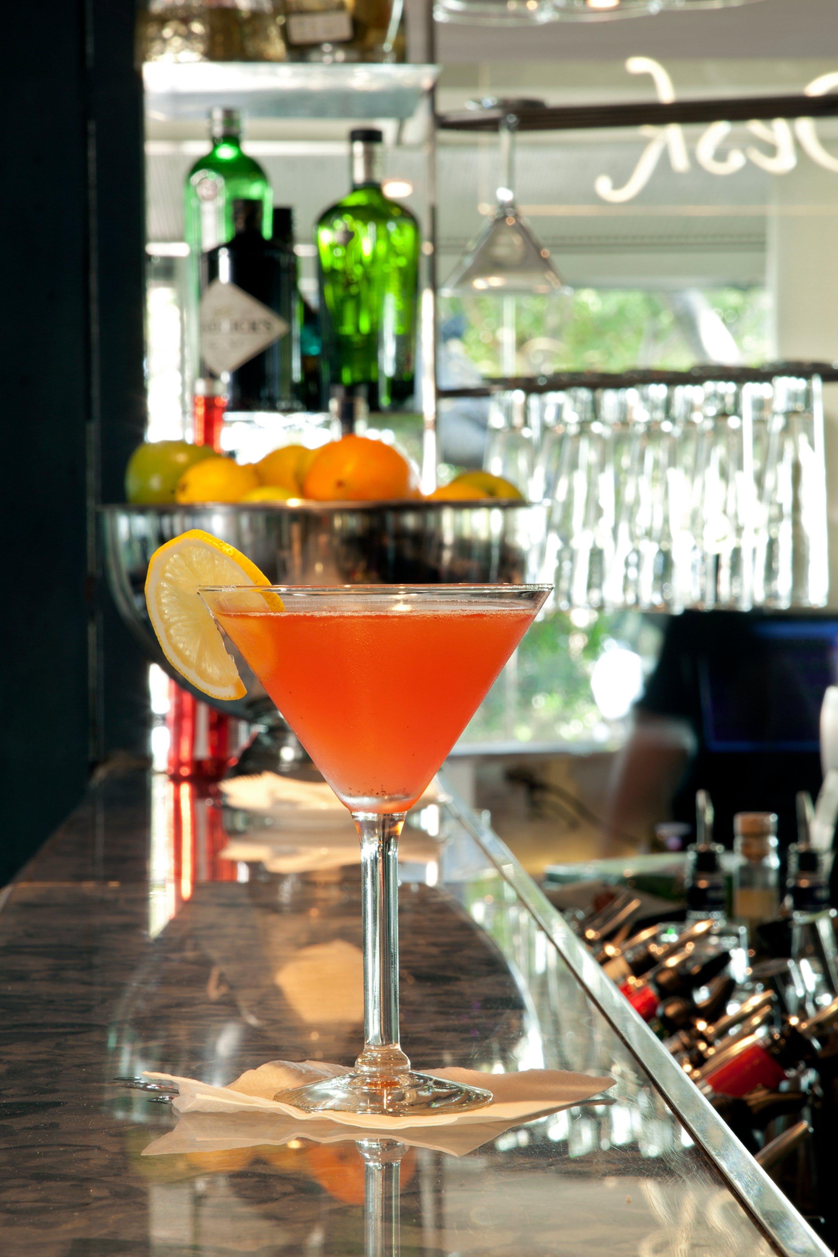 Char restaurant cocktail