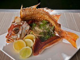 Char restaurant main dish