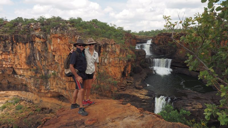 Greig & Alina- owner/ operators at Mitchdell Falls- The Kimberley
