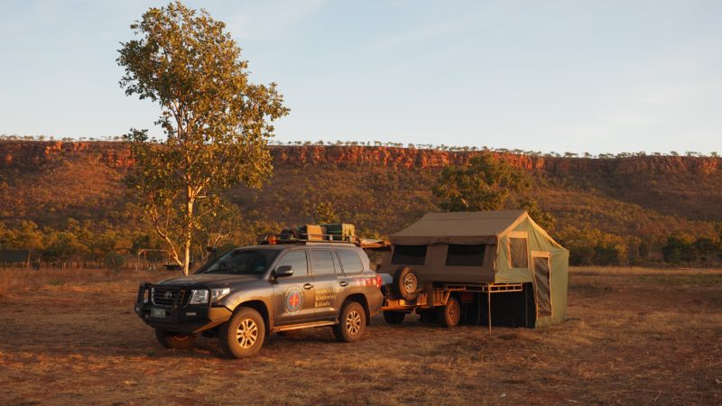 Charter North comfortable camping tours
