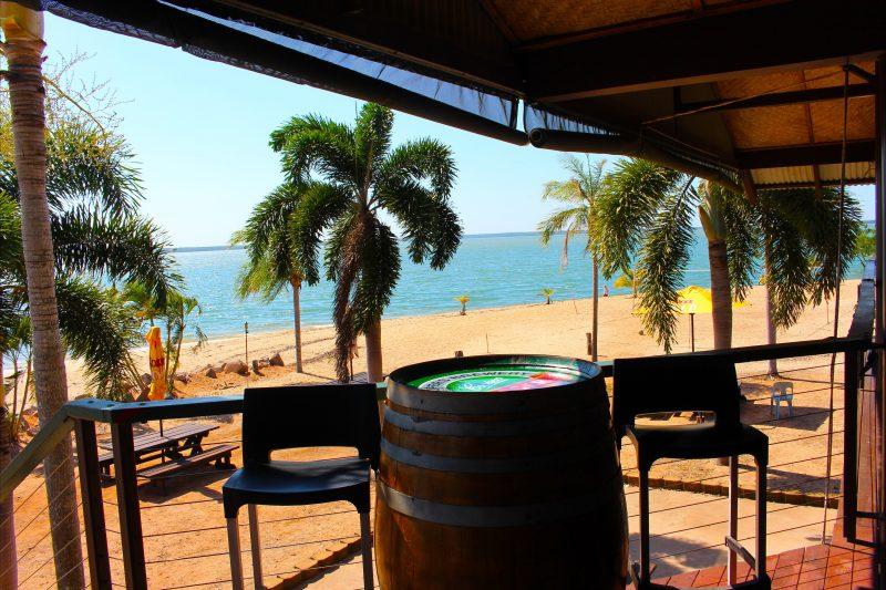 Crab Claw Island Breezes Restaurant View