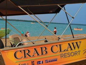 Boat Hire at Crab Claw Island Resort