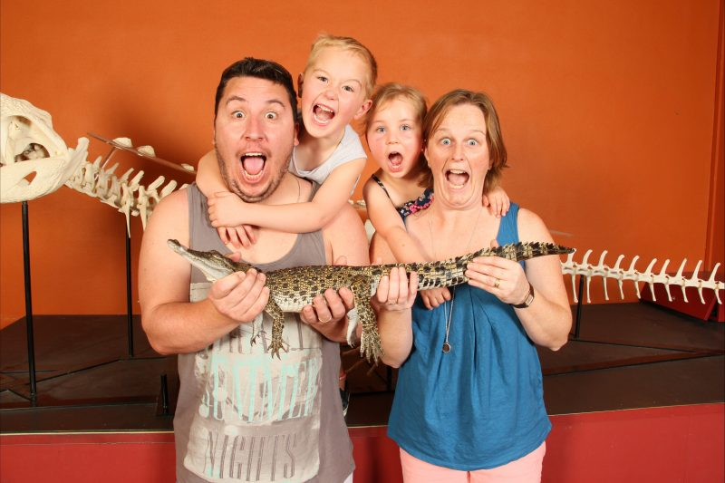 All Day - Have a professional photo shoot with Fluffy the Baby Crocodile