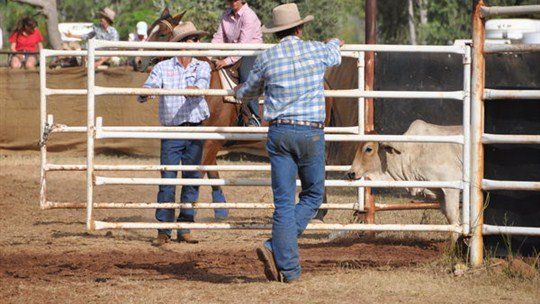 Daly Waters Rodeo, Katherine Area, Northern Territory, Australia