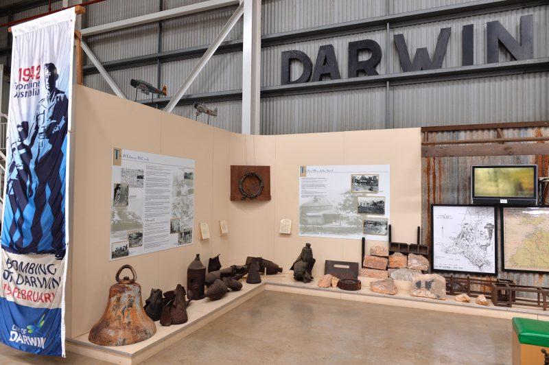 Darwin History Display