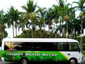 Darwin City Airport Shuttle Bus