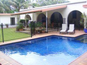 salt water swimming pool area darwin city bed and breakfast