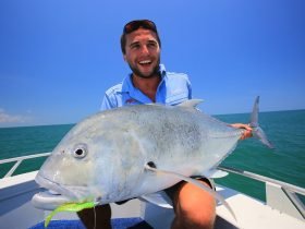 Deep sea fishing in the Top End