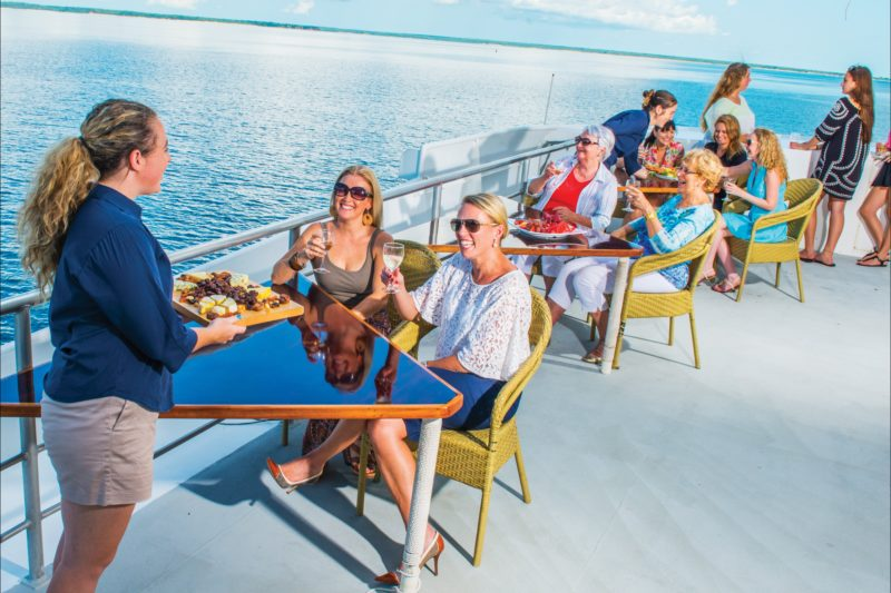 Darwin Harbour cruises Day deck