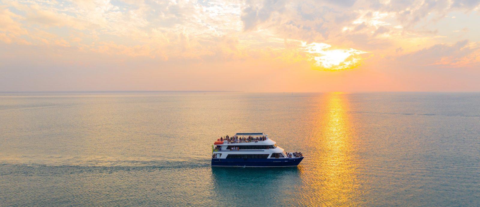 Experience a stunning Darwin sunset