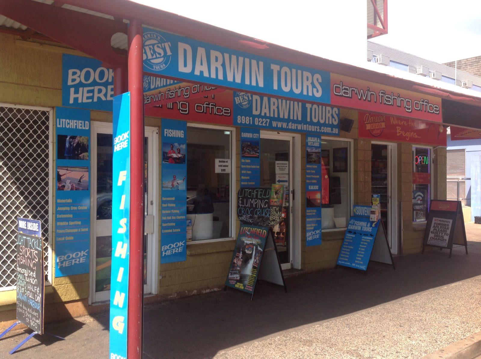 Darwin Tours Shop