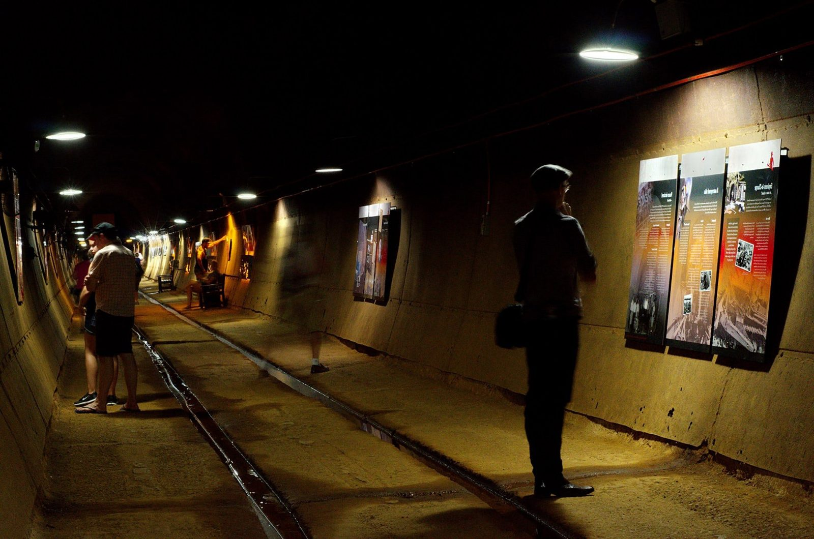 Visit the WWII Oil Storage Tunnels as part of your walking tour