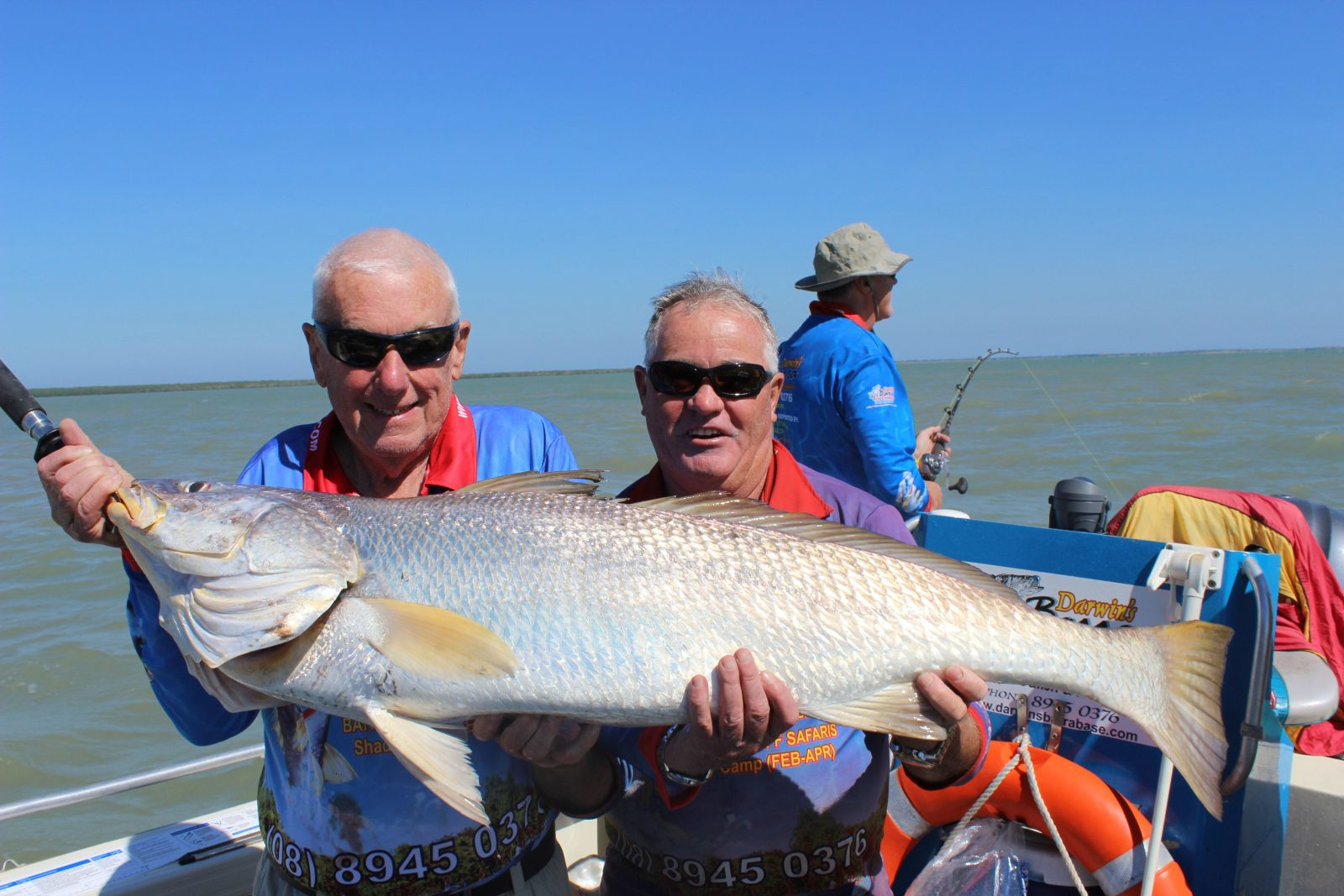 Darwin Barra Base Fishing Safaris