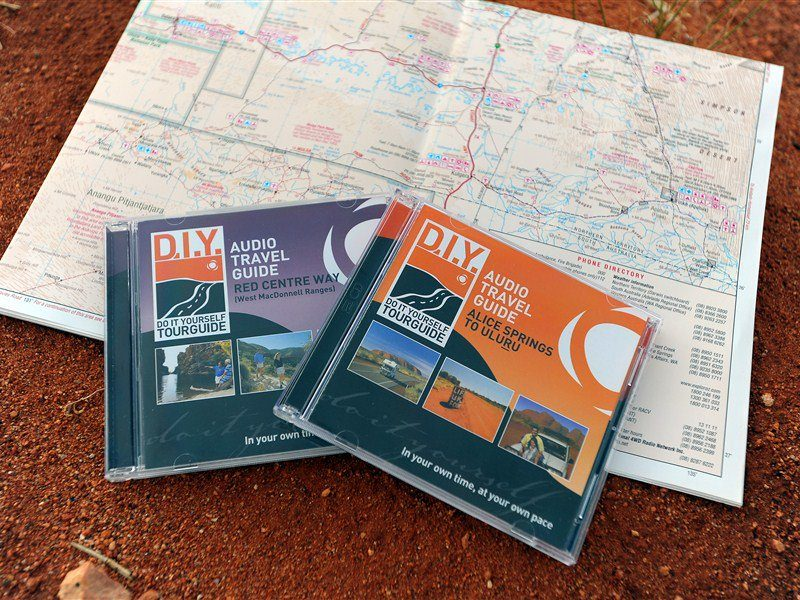 DIY Tourguide, Alice Springs Area, Northern Territory, Australia