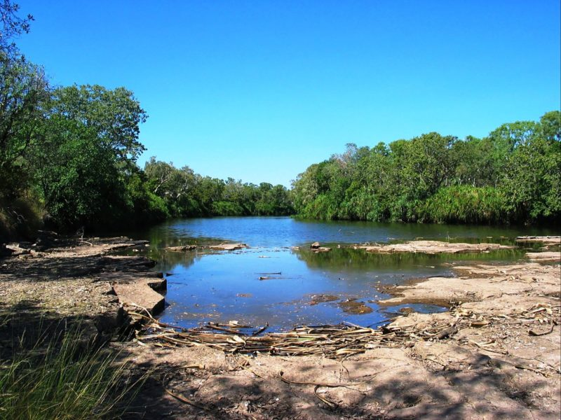 East Baines River, Bullita