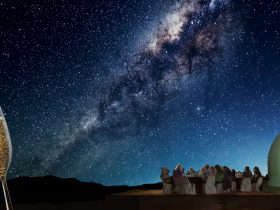 Dining under the stars at Earth Sanctuary Observatory