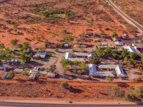 A drone shot of the entire property shows just how much we have to offer!